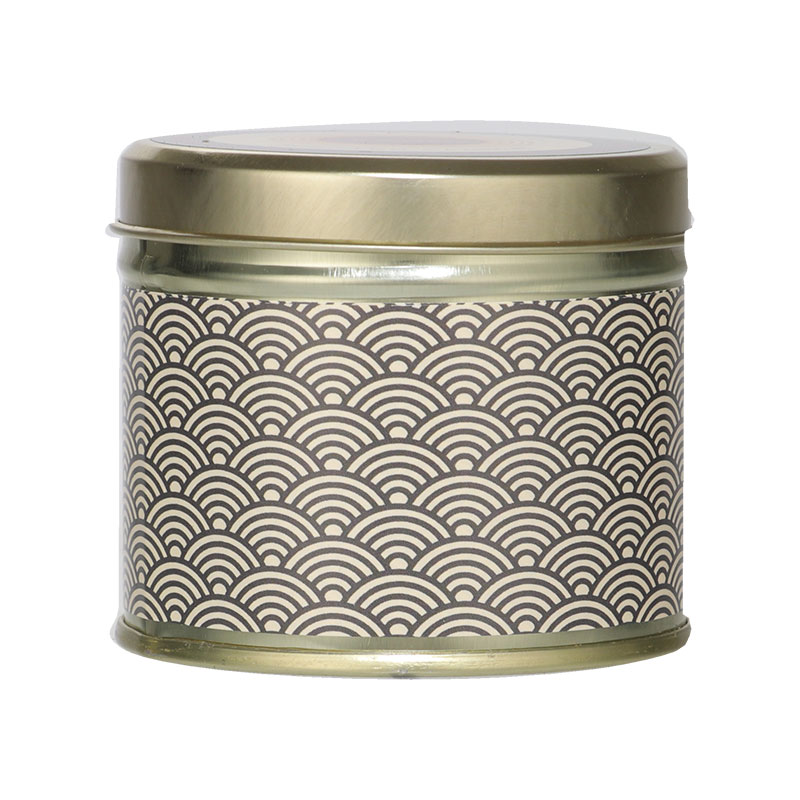 Abahna Frankincense & Bitter Orange Scented Candle Tin 160g